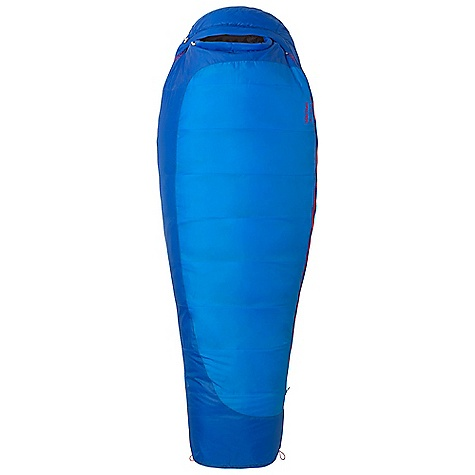 Camp and Hike Free Shipping. Marmot Women's Trestles 15 Sleeping Bag DECENT FEATURES of the Marmot Women's Trestles 15 Sleeping Bag EN Tested SpiraFil High Loft Insulation Dual Zippers Women's Specific Fit - More Insulation in Key Areas Insulated Collar with Easy Access Cord Classic Trapezoidal Foot Box Compression Stuff Sack in.Feelyin. Draw Cords Hood Draw Cord Second Side Zip Snagless Draft Tube Stash Pocket Two Hang Loops Two Way Zipper Sliders Velcro-free Face Muff Wave Construction Zipper Guards Updated EN 13537 Rating The SPECS Temperature Rating: 15deg F / -9deg C EN Tested Comfort: 13.8deg F / -10.1deg C EN Tested Lower Limit: 0.1deg F / -17.7deg C EN Tested Extreme: -37.8deg F / -38.8deg C Zip Option: Left Zip, Right Zip Fill: Spirafil 120 Insulation: Spirafil 120 Lining: 100% Polyester Tafffeta DWR 2.2 oz/yd 100% Polyester DWR 2.2 oz/yd 100% Polyester Embossed DWR 2.2 oz/yd The SPECS for Regular Weight: 4 lbs 5 oz / 1956 g Length: 5'6in. The SPECS for Long Weight: 4 lbs 8 oz / 2041 g - $108.95