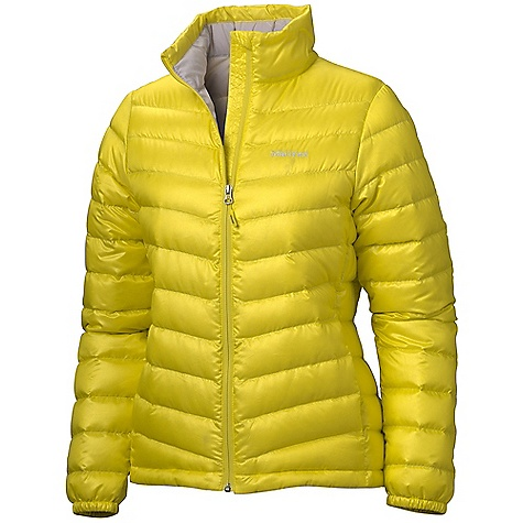 Free Shipping. Marmot Women's Jena Jacket DECENT FEATURES of the Marmot Women's Jena Jacket Ultralight Down-proof Fabric 800 Fill Power Goose Down Zippered Hand Pockets Elastic Draw Cord Hem Angel-Wing Movement The SPECS Weight: 11 oz / 311.8 g Center Back Length: 24.5in. Fit: Regular 100% Polyester DWR Mini Ripstop 1.2 oz/yd - $194.95