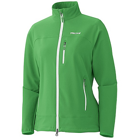 Free Shipping. Marmot Women's Tempo Jacket DECENT FEATURES of the Marmot Women's Tempo Jacket Marmot M3 Softshell Water Repellent and Breathable Zippered Chest Pocket with Headphone Port Zippered Hand Pockets Elastic Bound Cuffs Elastic Draw Cord Hem Angel-Wing Movement The SPECS Weight: 15 oz / 425.2 g Material: Softshell Double Weave 90% Polyester 10% Elastane Stretch 7.3 oz/yd Center Back Length: 25.50in. Fit: Regular - $99.95