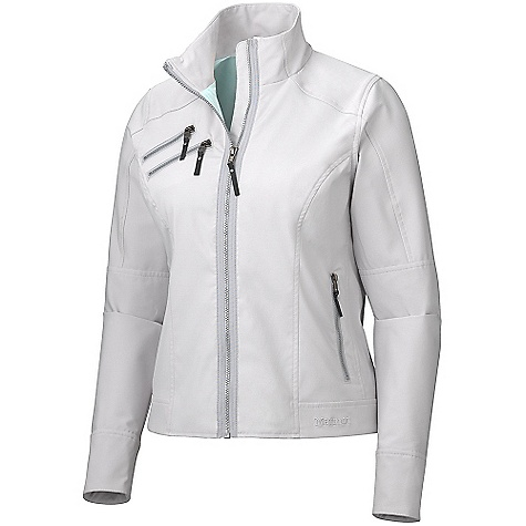 Free Shipping. Marmot Women's Zoom Softshell DECENT FEATURES of the Marmot Women's Zoom Softshell Marmot M3 Softshell Water Repellent and Breathable Zippered Chest Pockets with Decorative Zippers Zippered Hand Pockets with Decorative Zippers Interior Bonded Pocket The SPECS Weight: 1 lb 1.8 oz / 504.6 g Center Back Length: 22.50in. Fit: Regular Fit Material: Softshell Double Weave 97% Polyester, 3% Elastane 6.7oz/yd - $149.95