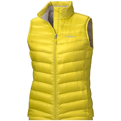 On Sale. Free Shipping. Marmot Women's Jena Vest DECENT FEATURES of the Marmot Women's Jena Vest Ultralight Down-proof Fabric 800 Fill Power Goose Down Zippered Hand Pockets Elastic Draw Cord Hem Packs into Pocket The SPECS Weight: 9.4 oz / 266.5 g Center Back Length: 24.5in. Fit: Regular 100% Polyester DWR Mini Ripstop 1.2 oz/yd - $103.99