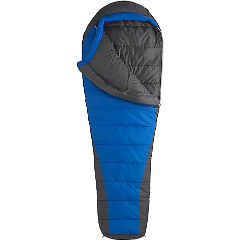 Camp and Hike On Sale. Free Shipping. Marmot Cloudbreak 20F Sleeping Bag DECENT FEATURES of the Marmot Cloudbreak 20F Sleeping Bag EN Tested Body-mapped Insulation Yields Maximum Thermal Efficiency without Added Weight Stuff Sack Included 3D Hood Construction Full Length Zipper Snag less Draft Tube Velcro-free Face Muff Two Hang Loops The SPECS Temperature Rating: 20deg F / -7deg C Comfort: 32.2deg F / 0.1deg C Lower Limit: 21.6deg F / -5.8deg C Extreme: -9.8deg F / -23.2deg C Zip Option: LZ Stuff Sack: 8.5 x 8.5in. / 22 x 46 cm Material: 100% Nylon Micro Rip DWR 1.4 oz/yd Lining: 100% Nylon Plain Weave WR 1.3 oz/yd Insulation: Thermal R The SPECS for Regular Weight: 2 lbs 14 oz / 1304 g Fill Weight: 34 oz / 964 g Girth: 90in. / 152.4 cm Hip: 57in. / 144.8 cm Foot: 38in. / 96.6 cm Size: 6'0in. The SPECS for Long Weight: 3 lbs 6 oz / 1530 g Fill Weight: 36 oz / 1020 g Girth: 62in. / 158 cm Hip: 59in. / 150 cm Foot: 40in. / 102 cm Size: 6'6in. - $154.99