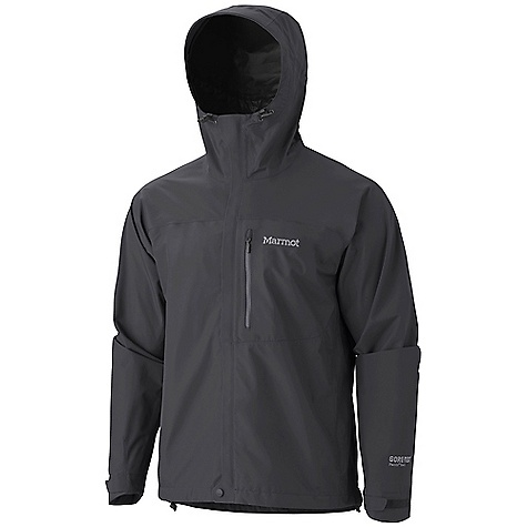 The Marmot Men's Minimalist Jacket is a Gore-Tex Paclite jacket for the backpacker that needs lightweight, waterproof protection. The Minimalist is light and simple, yet strong enough to block wind and rain (even Snow!) from ruining your trek from camp to camp. The zippered hand pockets and chest pocket secure small Items close by when trudging through a down pour, with storm flaps and a water resistant zipper for extra protection on the inside. Cinch the hood and hem down with elastic draw cords and wrap your wrists with Velcro straps to prevent the wind from blowing the jacket and hood all willy-nilly. As you heat up from your hiking exertions, open the pit zips to let in a bit of fresh air right at the core. Features of the Marmot Men's Minimalist Jacket Gore-Tex with Paclite Technology PitZips 100% Seam Taped Attached Adjustable Hood Chest Pocket with Water-Resistant Zipper Zippered Hand Pockets Storm Flap over Zipper with Snap/Velcro Closure Elastic Draw Cord Hem DriClime Lined Chin Guard Angel-Wing Movement - $199.95