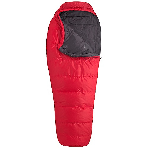 Camp and Hike Free Shipping. Marmot Rockaway 35F Sleeping Bag DECENT FEATURES of the Marmot Rockaway 35F Sleeping Bag EN Tested SpiraFil High Loft Insulation Shingle Insulation Construction Snagless Draft Tube Velcro-free Face Muff in.Feelyin. Draw Cords Classic Trapezoidal Foot Box Two Hang Loops Compression Stuff Sack Two Way Zipper Sliders Zipper Garage The SPECS Temperature Rating: 35deg F / 2deg C EN Tested Comfort: 42.9deg F / 5.5deg C EN Tested Lower Limit: 32.9deg F / 0.5deg C EN Tested Extreme: 5.2deg F / -14.9deg C Zip Option: Left Zip, Right Zip Fill: Spirafil 100 Insulation: Spirafil 100 Lining: 100% Nylon Plain Weave WR 1.3 oz/yd 100% Polyester Embossed DWR 2.2 oz/yd 100% Polyester Tafffeta DWR 2.2 oz/yd The SPECS for Regular Weight: 3 lbs 6 oz / 1612 g Length: 6'0in. The SPECS for Long Weight: 3 lbs 8.9 oz / 1612 g - $118.95