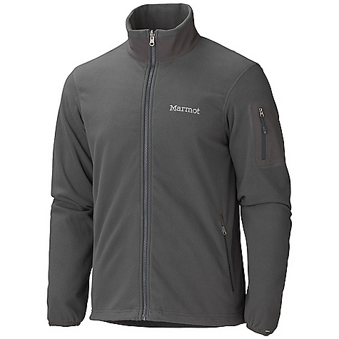 Free Shipping. Marmot Men's Haven Jacket DECENT FEATURES of the Marmot Men's Haven Jacket 100 Wt Polyester Fleece Bonded Zippered Sleeve Pocket Zippered Hand warmer Pockets Zippin Compatible Elastic Bond Cuffs Elastic Draw Cord Hem Angel-Wing Movement The SPECS Weight: 9.6 oz / 272.2 g Material: 100% Polyester Velour Fleece 4.3 oz/yd Center Back Length: 26.25in. Fit: Regular - $89.95