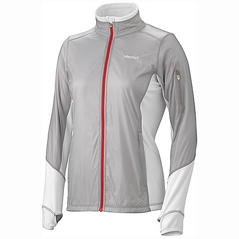 On Sale. Free Shipping. Marmot Women's Fusion Jacket DECENT FEATURES of the Marmot Women's Fusion Jacket Marmot M2 Softshell Windproof, Water Resistant, and Breathable Windproof Body and Sleeve Fabric with Wicking Interior Zippered Hand Pockets 360 Reflectivity Elastic Bond Cuffs with Integrated Thumb Holes Internal Zippered Media Pocket Elastic Draw Cord Hem Angel-Wing Movement The SPECS Weight: 8.8 oz / 249.5 g Center Back Length: 26in. Fit: Athletic WP Softshell 79% Polyester 21% PU Stretch with DriClime Technology 3.4 oz/yd 86% Polyester 14% Elastane 4.0 oz/yd - $71.99