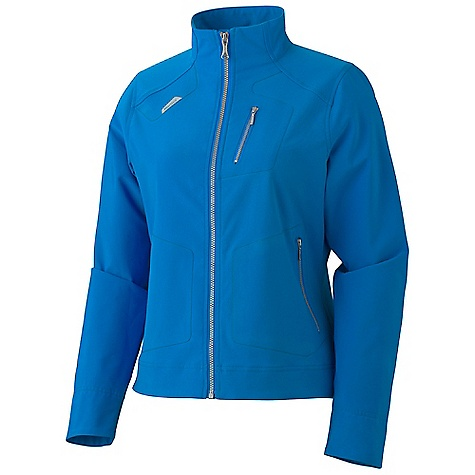 On Sale. Free Shipping. Marmot Women's Levity Jacket DECENT FEATURES of the Marmot Women's Levity Jacket Marmot M3 Softshell Water Repellent and Breathable Zippered Chest Pocket with Vislon Metalux Zippers Zippered Hand Pockets with Vislon Metalux Zippers The SPECS Weight: 12.3 oz / 348.7 g Material: Softshell Double Weave 88% Polyester 12% Elastane Stretch 6.6 oz/yd Center Back Length: 23.25in. Fit: Regular - $99.96