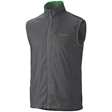 On Sale. Free Shipping. Marmot Men's DriClime Vest DECENT FEATURES of the Marmot Men's DriClime Vest Wind Resistant, Water Repellent, and Breathable DriClime Bi-Component Wicking Lining Hand Pockets Reflective Logos Elastic Draw Cord Hem The SPECS Weight: 7.25 oz / 205.5 g Fit: Regular Center Back Length: 28.25in. Material: 100% Polyester DWR 1.5 oz/yd - $67.96