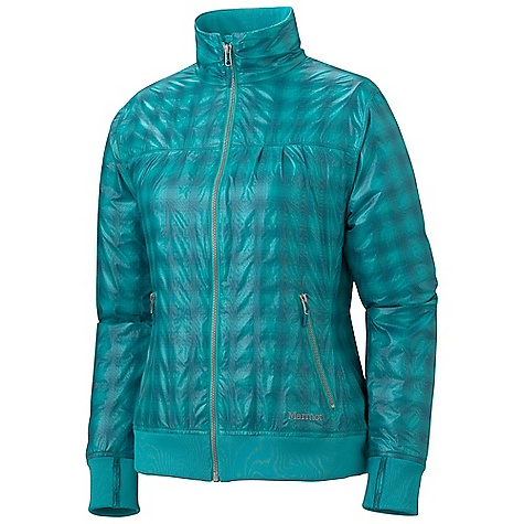 On Sale. Free Shipping. Marmot Women's Brentford Jacket DECENT FEATURES of the Marmot Women's Brentford Jacket Wind Resistant, Water Repellent, and Breathable Zippered Hand Pockets DriClime Lined in the Torso Rib Knit Lined Collar The SPECS Weight: 11.14 oz / 315.8 g Center Back Length: 25in. Fit: Regular Fit Material: 100% Polyester DWR Ripstop 2.1 oz/yd - $53.99