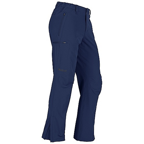 On Sale. Free Shipping. Marmot Men's Scree Pant DECENT FEATURES of the Marmot Men's Scree Pant Marmot M3 Soft-shell Water Repellent and Breathable Zippered Hand Pockets Back Zip Pocket Zippered Back Pocket Elastic Waist with Snap Closure and Zip Fly Ankle Zippers Belt Loops The SPECS Weight: 1 lb 1 oz / 481.9 g Fit: Athletic Material: Soft-shell Double Weave 90% Nylon 10% Elastane Stretch 6.3 oz/yd - $70.99
