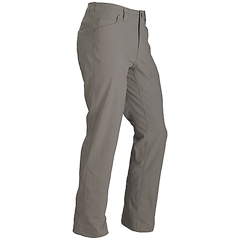 On Sale. Free Shipping. Marmot Men's Reston Pant DECENT FEATURES of the Marmot Men's Reston Pant Blue Sign Approved Fabric Mid-Weight Performance Durable Nylon Woven Fabric Ultraviolet Protection Factor (UPF) 50 Abrasion Resistant Nylon Quick-Drying Continuous Gusseted Crotch for Increased Mobility Fixed Waist Pant with Front Slash Pockets The SPECS Weight: 1 lb 3.8 oz / 561.3 g Material: 100% Nylon Canvas 8.1 oz/yd Fit: Regular Inseam: short: 30in., regular: 32in., long: 34in. - $58.99