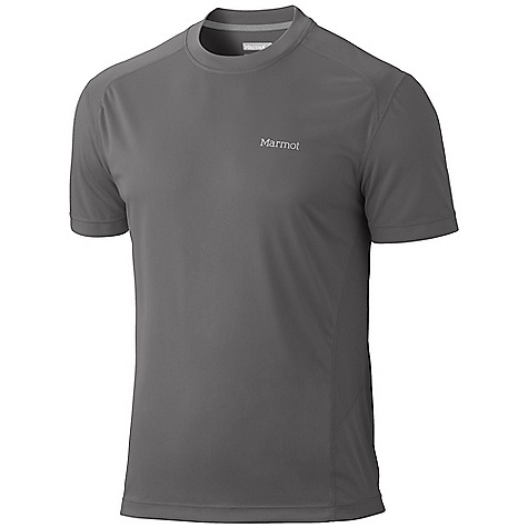 Features of the Marmot Men's Windridge Short Sleeve Top Lightweight, Breathable, Quick-Drying Performance Knit Fabric Ultraviolet Protection Factor (UPF) 50 Quick-Drying and Wicking Mesh Panels for Breathability Flat-locked Seams for Added Comfort Tag-Free Neckline Reflectivity - $29.95