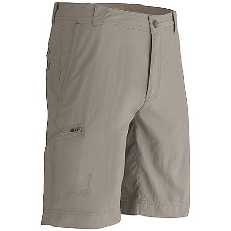 Free Shipping. Marmot Men's Cruz Short DECENT FEATURES of the Marmot Men's Cruz Short Blue Sign Approved Fabric Soft, Breathable, Light Weight Performance Woven Fabric Ultraviolet Protection Factor (UPF) 50 Abrasion Resistant Nylon Fabric Durable Water-Resistant Finish (DWR) Quick-Drying Gusseted Crotch for Increased Mobility Front Slash Pockets and Secure Side Pocket with Zip Closure Brushed Tricot Interior Waistband for Added Comfort The SPECS Weight: 10.58 oz / 299.9 g Fit: Loose Fit Inseam: 10in. Material: 100% Nylon DWR 3.6 oz/yd - $58.00