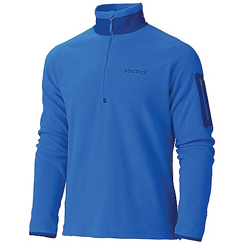 Free Shipping. Marmot Men's Reactor Half Zip DECENT FEATURES of the Marmot Men's Reactor Half Zip Polartec Classic 100 Micro Flat Lock Construction 12in. Center Front Zip Bonded Zippered Sleeve Pocket The SPECS Weight: 9.3 oz / 263.7 g Center Back Length: 27.75in. Fit: Regular Polartec Classic 100 100% Polyester Micro Fleece 4.6 oz/yd - $84.95