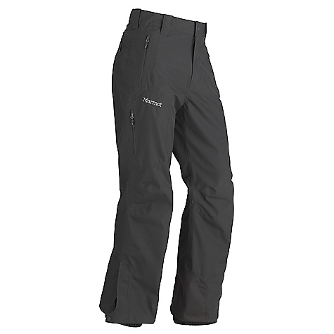 On Sale. Free Shipping. Marmot Men's Palisades Pant DECENT FEATURES of the Marmot Men's Palisades Pant Gore-Tex Performance Shell 100% seam taped 2-layer construction Hand Pockets with Water Resistant Zipper Cargo Pocket with Water Resistant Zipper Zippered Back Pocket Zip Fly with Snap Closure Cordura Scuff Guard Anatomic Articulation Zones Internal Gaiters with Gripper Elastic Ankle Zippers The SPECS Weight: 1 lb 2 oz / 510.3 g Material: Gore-Tex Products 2L 100% Polyester 3.4 oz/yd Fit: Regular - $148.99