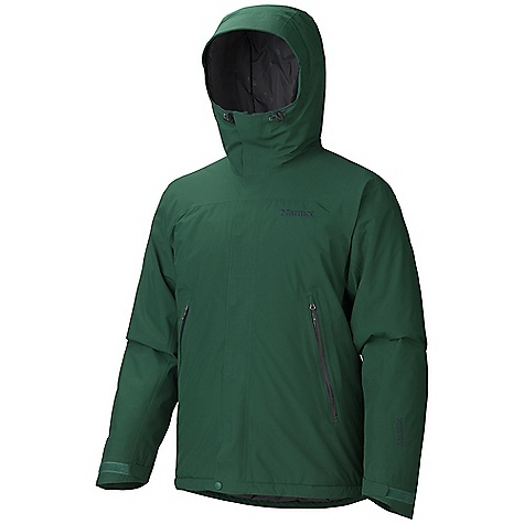 On Sale. Free Shipping. Marmot Men's Fulcrum Jacket DECENT FEATURES of the Marmot Men's Fulcrum Jacket Gore-Tex Fabric. Guaranteed to Keep You Dry 100% seam taped 2-layer construction Helmet Compatible Gale-Force Hood with Laminated Wire Brim ERG Hood Adjustment System Pit Zips Pack Pockets with Water-resistant Zippers Zip-off Powder Skirt Integrated Laser-Drilled Pocket Backing for Enhanced Breathability Interior Mesh Storage Pocket Interior Zippered Pocket DriClime Lined Chin Guard Elastic Draw Cord Hem Angel-Wing Movement The SPECS Weight: 1 lb 14.4 oz / 861.8 g Center Back Length: 30in. Fit: Regular Material: Gore-Tex Performance 2L 100% Polyester 3.5 oz/yd - $232.99