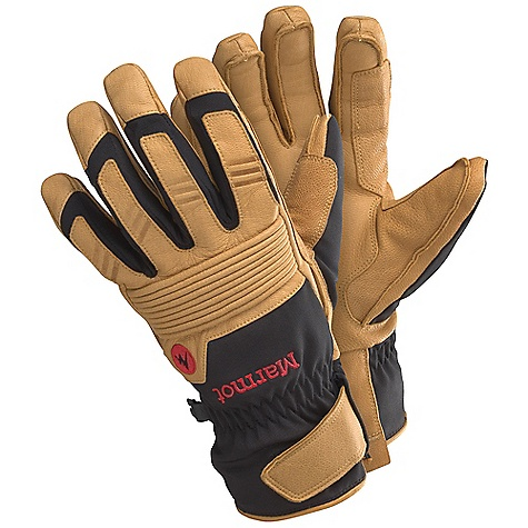 Free Shipping. Marmot Exum Guide Undercuff Glove DECENT FEATURES of the Marmot Exum Guide Undercuff Glove Marmot MemBrain Waterproof / Breathable Fabric Carabiner Loop To Hang Gloves and Keep Out the Elements Undercuff Design Fits Under Jacket Sleeve in.Outfinishedin. Seams on Palm for Unparalleled Fit and Function Dri-Clime Bi-Component Wicking Lining Falcon Grip The SPECS Weight: 4.87 oz / 138 g Reinforcement: Washable Leather 0.6 - 0.8mm Lining: Dri-Clime 3-Dimentional Wicking Lining Insulation: Thermal R MemBrain 2L 100% Nylon Stretch 4.8 oz/yd - $89.95