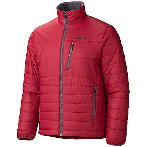 Free Shipping. Marmot Men's Caldera Jacket DECENT FEATURES of the Marmot Men's Caldera Jacket Thermal R Eco Insulation Zippered Hand warmer Pockets Zippered Chest Pocket Elastic Bond Cuffs Interior Zippered Pocket DriClime Lined Collar and Chin Guard Elastic Draw Cord Hem Angel-Wing Movement The SPECS Weight: 1 lb 4 oz / 567 g Material: 100% Nylon Ripstop DWR 1.4 oz/yd - $139.95