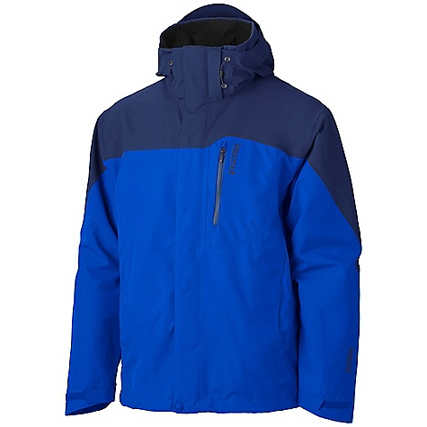 On Sale. Free Shipping. Marmot Men's Palisades Jacket DECENT FEATURES of the Marmot Men's Palisades Jacket Gore-Tex Fabric. Guaranteed to Keep You Dry Pit Zips 100% seam taped 2-layer construction Chest Pocket with Water-Resistant Zipper Zippered Hand Pockets Removable Storm Hood with Laminated Brim Zip-off Powder Skirt Internal Zip Pocket Paneled Mesh Lining Elastic Draw Cord Hem DriClime Lined Chin Guard Angel-Wing Movement Zippin Compatible The SPECS Weight: 2 lbs 1.9 oz / 961 g Material: Gore-Tex Products 2L 100% Polyester 3.4 oz/yd Center Back Length: 30in. Fit: Regular - $178.99
