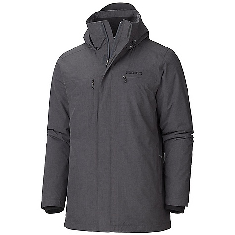 Fitness On Sale. Free Shipping. Marmot Men's Hamilton Jacket DECENT FEATURES of the Marmot Men's Hamilton Jacket Marmot MemBrain 2 Layer Waterproof/ Breathable Fabric 100% Seam Taped Up Cycle Fabric Attached Adjustable Hood Invisible Zip Chest Pocket DriClime Lined Zippered Hand warmer Pockets Micro Fleece Internal Cuffs Interior Touch Media Pocket Interior Zippered Pocket Rib Knit Lined Collar Elastic Draw Cord Hem The SPECS Weight: 1 lb 8.7 oz / 700 g Material: MemBrain 2L 100% Nylon 2.7 oz/ yd Center Back Length: 32in. Fit: Regular - $201.99