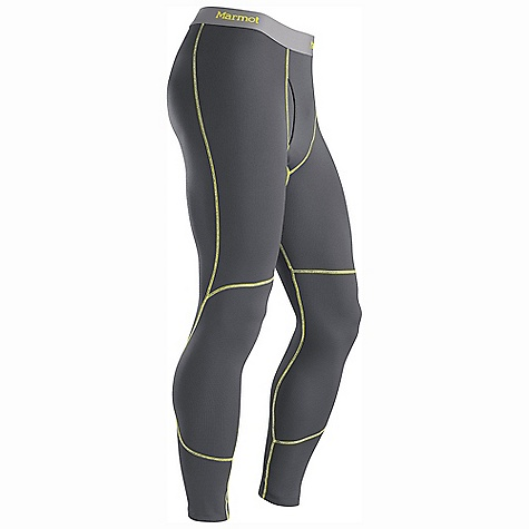 Free Shipping. Marmot Men's Midweight Bottom DECENT FEATURES of the Marmot Men's Midweight Bottom Polartec Power Dry with Cocona Performance Technology Marmot UpCycle Product with Recycled Polyester Cocona for Natural Odor Protection Quick-Drying and Wicking Stretch for Increased range of motion Flat-Locked Seams for Added Comfort Gusseted Crotch for Increased Mobility 31 1/2in. Inseam The SPECS Weight: 6.3 oz / 178.6 g Material: PolartecPower Dry 96% Polyester (29% Cocona), 4% Elastane Midweight 4.2 oz/yd Fit: Athletic - $49.95