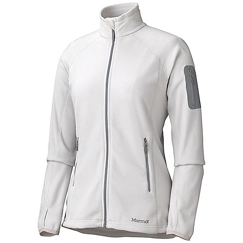 On Sale. Free Shipping. Marmot Women's Flashpoint Jacket DECENT FEATURES of the Marmot Women's Flashpoint Jacket Polartec Classic 100 Micro Flat Lock Construction Zippered Sleeve Pocket Zippered Handwarmer Pockets Elastic Bound Cuffs Elastic Draw Cord Hem The SPECS Weight: 10.6 oz / 300.5 g Center Back Length: 26in. Fit: Regular Polartec Classic 100 100% Polyester Micro Fleece 4.6 oz/yd - $65.99