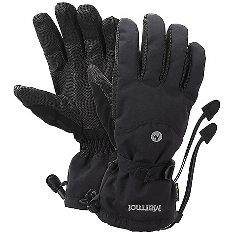 On Sale. Free Shipping. Marmot Randonnee Glove DECENT FEATURES of the Marmot Randonnee Glove Gore XCR Performance Gore-Tex Waterproof/Breathable Glove Insert Marmot MemBrain Waterproof/Breathable Fabric Dri-Clime Bi-Component Wicking Lining Falcon Grip Gauntlet Quickdraw Nose wipe Safety Leash Wrist Strap The SPECS Weight: 6.49 oz / 184 g MemBrain 2L 100% Nylon 4.4 oz/yd Reinforcement: Washable Digital Hairsheep Leather 0.5 - 0.6mm Lining: Dri-Clime 3-Dimentional Wicking Lining Insulation: Thermal R Glove Insert: Gore-Tex Glove Insert-Durably Waterproof, Windproof and Breathable - $79.96