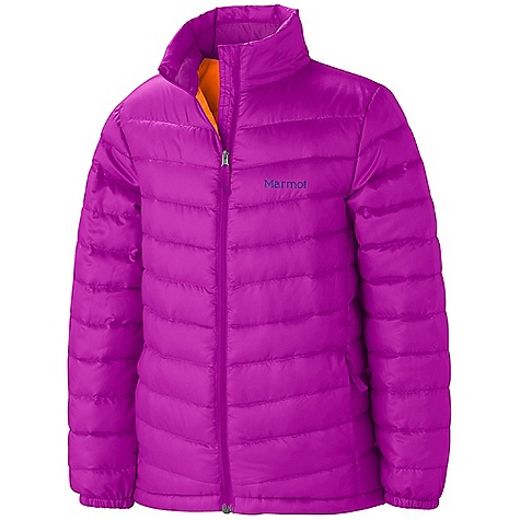 On Sale. Free Shipping. Marmot Girls' Jena Jacket DECENT FEATURES of the Marmot Girls' Jena Jacket 700 Fill Power Down with Down Defender Zippered Handwarmer Pockets Elastic Cuffs Wind Flap Behind Front Zipper Angel-Wing Movement The SPECS Weight: 9 oz / 255.1 g Center Back Length: 22in. Fit: Regular 100% Polyester DWR Mini Ripstop 1.2 oz/yd - $73.99