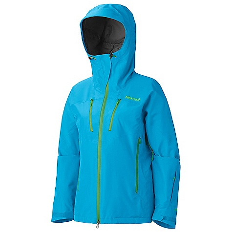 On Sale. Free Shipping. Marmot Women's Terminus Jacket DECENT FEATURES of the Marmot Women's Terminus Jacket Gore-Tex Pro Fabric - New Generation Micro-Stitched and 100% Seam Taped Helmet Compatible Gale-Force Hood with Laminated Wire Brim PitZips with Water Resistant Zippers Hand Pockets with Water Resistant Zipper Napoleon Chest Pockets with Water Resistant Zips Zip Sleeve Pocket Asymmetric Cuffs with Velcro Adjustment Integrated Laser-Drilled Pocket Backing for Enhanced Breathability Zip-off Powder Skirt Interior Zippered Pocket Internal Zip Mesh Storage Pocket Elastic Draw Cord Hem Angel-Wing Movement The SPECS Weight: 1 lb 1.6 oz / 499 g Center Back Length: 27in. Fit: Regular Gore-Tex Pro Products 3L 100% Nylon 3.2 oz/yd - $366.99