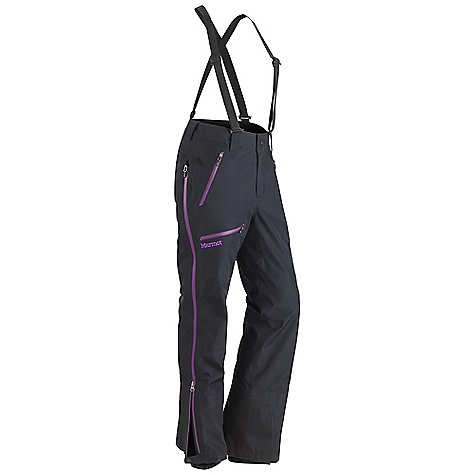 On Sale. Free Shipping. Marmot Women's Terminus Pant DECENT FEATURES of the Marmot Women's Terminus Pant Gore-Tex Pro 3 Layer Micro-Stitched and 100% Seam Taped Water Resistant Side Zippers Removable Suspenders Hand Pockets with Water Resistant Zipper Thigh Pocket with Water Resistant Zippers Anatomic Articulated Legs Internal Gaiters with Gripper Elastic Cordura Scuff Guard The SPECS Material: Gore-TexPro 3L 100% Nylon 3.6 oz/yd Fit: Regular - $291.99