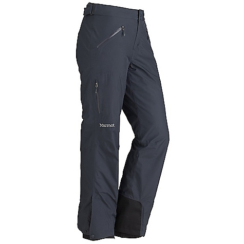 Free Shipping. Marmot Women's Palisades Insulated Pant DECENT FEATURES of the Marmot Women's Palisades Insulated Pant Gore-Tex Fabric. Guaranteed to Keep You Dry 100% seam taped 2-layer construction Hand Pockets with Water Resistant Zipper Cargo Pocket with Water Resistant Zipper Adjustable Waist with Snap Closure and Zip Fly Cordura Scuff Guard Anatomic Articulated Legs Internal Gaiters with Gripper Elastic Side Ankle Zips The SPECS Weight: 1 lb 2.8 oz / 533 g Fit: Regular Gore-Tex Products 2L 100% Polyester 3.4 oz/yd - $239.95