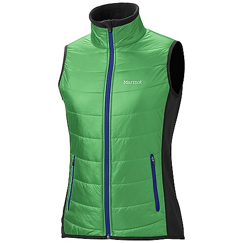 Free Shipping. Marmot Women's Variant Vest DECENT FEATURES of the Marmot Women's Variant Vest Thermal R Insulation Polartec Power Stretch in Back Zip Hand Pockets The SPECS Weight: 7.8 oz / 221.1 g Center Back Length: 25.5in. Fit: Athletic 100% Nylon Double Rip 0.9 oz/yd PolartecPower Stretch 88% Polyester 12% Elastane 6.8 oz/yd - $139.95