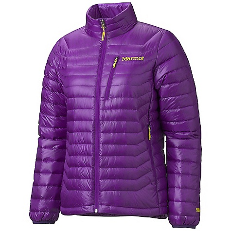 Free Shipping. Marmot Women's Quasar Jacket DECENT FEATURES of the Marmot Women's Quasar Jacket Ultralight 10 Denier Pertex Quantum Fabric 900 Fill Goose Down Zip Chest Pocket Zip Hand Pockets Elastic Bond Cuffs Packs into Pocket Elastic Draw Cord Hem Angel-Wing Movement The SPECS Weight: 7.8 oz / 221.1 g Fit: Regular 100% Nylon 10d Micro Ripstop DWR 0.8 oz/yd - $274.95