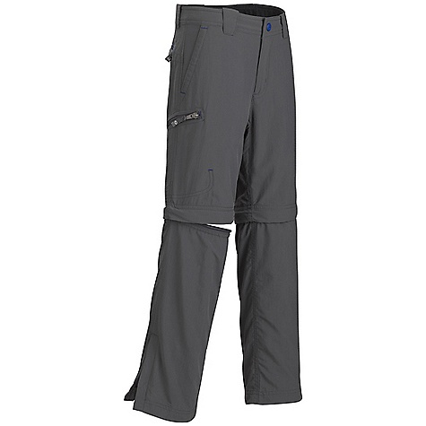 Free Shipping. Marmot Boys' Cruz Convertible Pant DECENT FEATURES of the Marmot Boys' Cruz Convertible Pant Blue Sign Approved Fabric Lightweight, Packable, Breathable Performance Woven Fabric Ultraviolet Protection Factor (UPF) 30 Abrasion Resistant Nylon Quick-Drying and Wicking Durable Water- Resistant Finish (DWR) Inseam Gusset Panel for Increased Mobility 24in. Inseam and Pant Zips off to convert into a 7.5in. Short Secure Side Pocket Side Leg Zips for Easy On and Off DriClime Interior Waistband for Added Comfort The SPECS Weight: 7.1 oz / 201.3 g Material: 100% Nylon Plain Weave 3.0 oz/yd Fit: Regular - $49.95