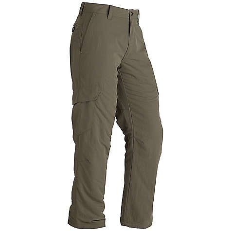 On Sale. Free Shipping. Marmot Men's Ridgecrest Insulated Pant DECENT FEATURES of the Marmot Men's Ridgecrest Insulated Pant Blue Sign Approved Fabric Light-Weight Performance Durable Nylon Woven Fabric 40g Insulation Ultraviolet Protection Factor (UPF) 50 Durable Water-Resistant Finish (DWR) Zipper Secure Back Pockets Side Cargo Pockets with Velcro Closure Brushed Tricot Interior Waistband for Added Comfort The SPECS Weight: 1 lb 12.2 oz / 799.5 g Fit: Regular Inseam: 32in. Material: 100% Nylon Peached DWR 5.5 oz/yd - $73.99