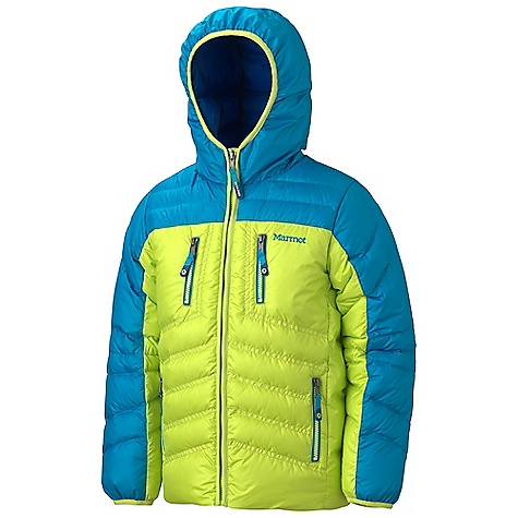 On Sale. Free Shipping. Marmot Boys' Hangtime (Down) Hoody DECENT FEATURES of the Marmot Boys' Hangtime (Down) Hoody 700 Fill Power Down with Down Defender Full Length Zipper Zippered Hand Pockets Zippered Chest Pockets Wind Flap Behind Front Zipper Micro Fleece Internal Cuffs Elastic Draw Cord Hem The SPECS Weight: 1 lb 0.5 oz / 467.8 g Center Back Length: 21.75in. Fit: Regular 100% Polyester Ripstop DWR 1.6 oz/yd - $93.99