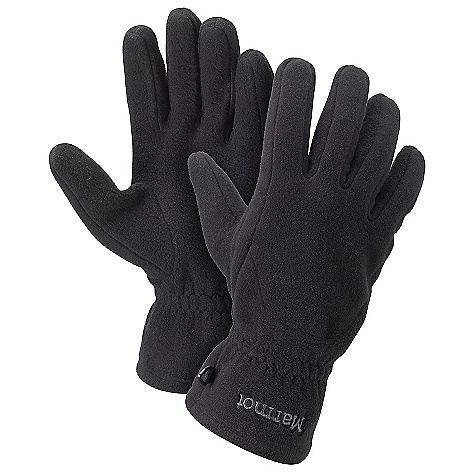 Marmot Fleece Glove FEATURES of the Marmot Fleece Glove Falcon Grip Midweight Non-Pill Fleece - $24.95