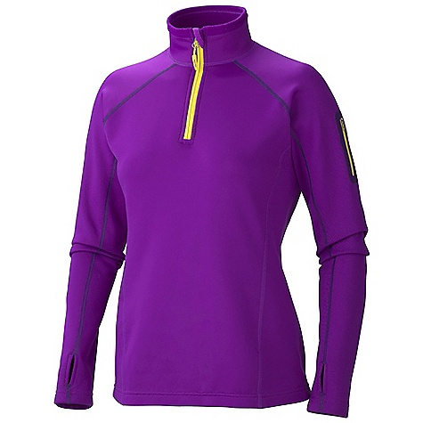 Free Shipping. Marmot Women's Power Stretch 1-2 Zip DECENT FEATURES of the Marmot Women's Power Stretch 1/2 Zip Polartec Power Stretch Flat Lock Construction Zip Sleeve Pocket Elastic Bond Cuffs with Integrated Thumb Holes Elastic Draw Cord Hem The SPECS Fit: Athletic PolartecPower Stretch 91% Polyester 9% Elastane 5.9 oz/yd - $109.95