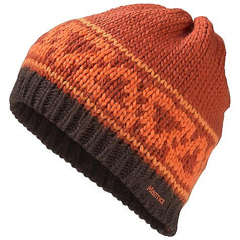 Entertainment Marmot Scalene Hat DECENT FEATURES of the Marmot Scalene Hat Micro Fleece Lining The SPECS Weight: 2.8 oz / 79.4 g 100% Acrylic Lining: Micro Fleece - $37.95