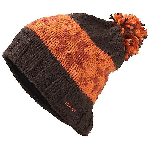 Entertainment Marmot Snowfall Pom Hat DECENT FEATURES of the Marmot Snowfall Pom Hat Micro-Fleece Headband Lining The SPECS Weight: 2.7 oz / 76.5 g Material: 100% Acrylic Lining: Micro Fleece - $37.95