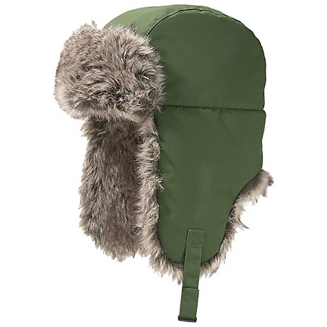 Entertainment Marmot Yukon Hat The SPECS Weight: 4.1 oz / 116.2 g Material: 100% Nylon Lining: 100% Polyester, Faux Fur 100% Acrylic Insulation 100% Polyester - $48.95