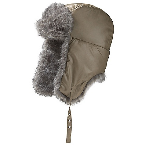 Entertainment Marmot Women's Cattel Hat The SPECS Weight: 3.7 oz / 104.9 g Material: 100% Nylon Lining: 100% Polyester, Faux Fur 100% Acrylic Insulation: 100% Polyester - $48.95