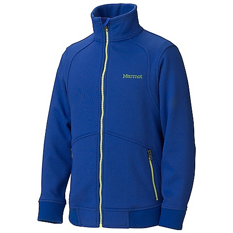 Free Shipping. Marmot Boys' Croydon Fleece Jacket DECENT FEATURES of the Marmot Boys' Croydon Fleece Jacket Comfortable, Brushed Mid-Weight Fleece Quick-Drying for Minimal Heat Loss Secure Lower Zip Hand warmer Pockets Chin Guard with Wind Flap Contrast Zippers Rib Knit at Cuffs and Hem The SPECS Weight: 14.6 oz / 413.9 g Material: 100% Polyester Moleflex Fleece 9.1 oz/yd Fit: Regular - $67.95