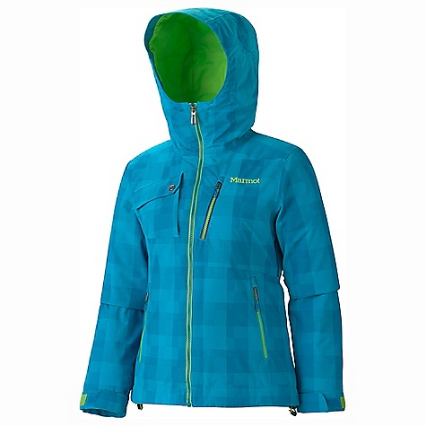 On Sale. Free Shipping. Marmot Women's Alter Ego Jacket DECENT FEATURES of the Marmot Women's Alter Ego Jacket Marmot MemBrain Waterproof/Breathable Fabric Unique Woven Pattern Fabric 100% Seam Taped Attached Helmet Compatible Storm Hood Thermal R Insulation PitZips with Water Resistant Zippers Hand Pockets with Water Resistant Zipper Chest Pockets with Water Resistant Zips Flapped Chest Pocket with Zip Closure Zip-off Powder Skirt Zippered Sunglass Pocket Internal Media pocket Mesh Goggle Pocket Mesh Gear Pocket HD Brushed Tricot Collar and Shoulder Lining Elastic Draw Cord Hem Adjustable Velcro Cuffs Angel-Wing Movement The SPECS Material: MemBrain10 2L 100% Nylon Dobby 4.7oz/ydFit Regular - $242.99