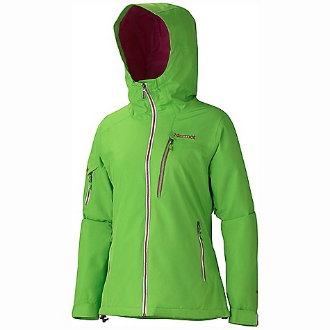 Free Shipping. Marmot Women's Freerider Jacket DECENT FEATURES of the Marmot Women's Freerider Jacket Gore-Tex 2-Layer Fabric 100% Seam Taped Attached Helmet Compatible Storm Hood PitZips with Water Resistant Zippers Hand Pockets with Water Resistant Zipper Napoleon Chest Pockets with Water Resistant Zips Flapped Sleeve Pocket with Water Resistant Zip Zip-off Powder Skirt Zippered Sunglass Pocket Internal Media pocket Mesh Goggle Pocket Mesh Gear Pocket HD Brushed Tricot Collar and Shoulder Lining Elastic Draw Cord Hem Adjustable Velcro Cuffs Angel-Wing Movement The SPECS Weight: 1 lb 3 oz / 538.6 g Material: Gore-Tex Products 2L 100% Polyester 4.4 oz/yd Fit: Regular - $449.95