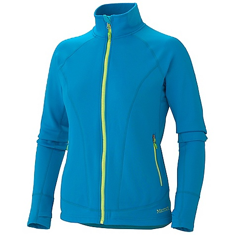 On Sale. Free Shipping. Marmot Women's Ella Fleece DECENT FEATURES of the Marmot Women's Ella Fleece Soft, Comfortable, Mid-Weight Stretch Performance Fabric Abrasion Resistant Nylon with Brushed Back for Optimal Comfort Durable and Quick Drying Stretch for Increased Mobility Flat-Locked Seams for Added Comfort Zippered Handwarmer Pockets Elastic Draw Cord Hem Thumbholes Interior Zipper Secured Pocket Droptail Hem for Increase Coverage The SPECS Weight: 15 oz / 425.2 g Material: 93% Nylon, 7% Elastane Fleece 7.4 oz/yd Center Back Length: 26in. Fit: Regular - $70.99