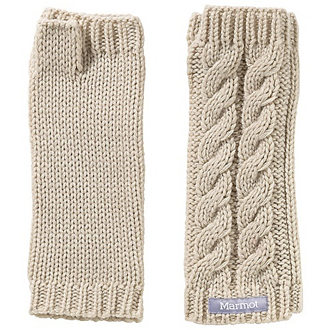 Marmot Women's Fingerless Mittens The SPECS Weight: 2 oz / 56.7 g Material: 100% Acrylic - $34.95
