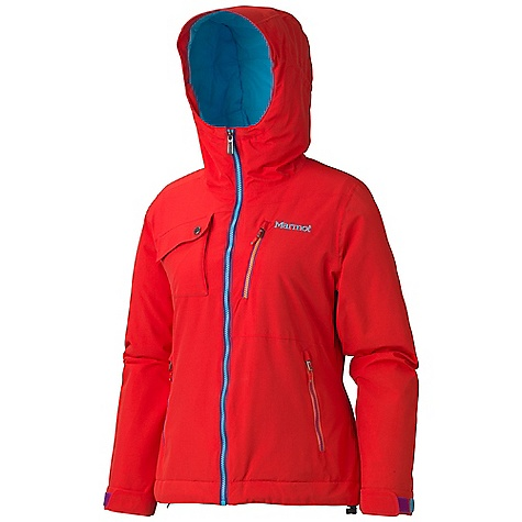 On Sale. Free Shipping. Marmot Women's Free Skier Jacket DECENT FEATURES of the Marmot Women's Free Skier Jacket Marmot MemBrain Waterproof/Breathable Fabric 100% Seam Taped Attached Helmet Compatible Storm Hood Thermal R Insulation PitZips with Water Resistant Zippers Hand Pockets with Water Resistant Zipper Chest Pockets with Water Resistant Zips Flapped Chest Pocket with Zip Closure Zip-off Powder Skirt Zippered Sunglass Pocket Internal Media pocket Mesh Goggle Pocket Mesh Gear Pocket HD Brushed Tricot Collar and Shoulder Lining Elastic Draw Cord Hem Adjustable Velcro Cuffs Angel-Wing Movement The SPECS Weight: 1 lb 8 oz / 680.4 g Material: MemBrain10 2L 100% Nylon 5.0 oz/yd Fit: Regular - $209.99