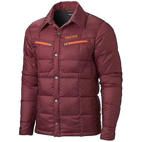 Free Shipping. Marmot Men's Tuner Jacket DECENT FEATURES of the Marmot Men's Tuner Jacket 700 Fill Power Down with Down Defender Zippered Chest Pockets Snap Front Snap Cuffs The SPECS Weight: 15 oz / 425.2 g Center Back Length: 28in. Fit: Athletic 100% Recycled Polyester 1.6 oz/ yd - $164.95