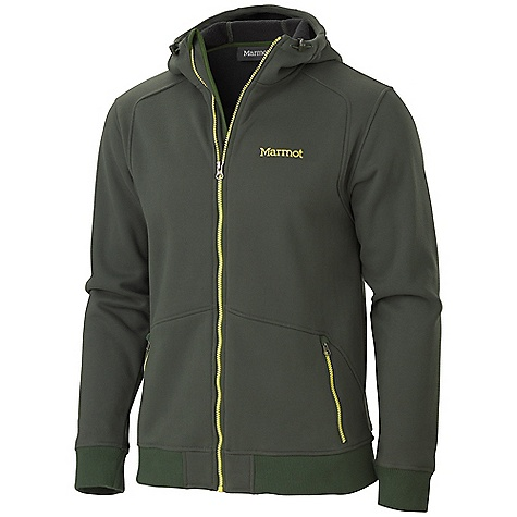 On Sale. Free Shipping. Marmot Men's Croydon Long-Sleeved Fleece DECENT FEATURES of the Marmot Men's Croydon Long-Sleeved Fleece Comfortable, Brushed Mid-Weight Fleece Quick - Drying for Minimal Heat Loss Secure Lower Zip Handwarmer Pockets Wind Flap with Chin Guard 3 Piece Hood Adjustable Drawcord at Hood Contrast Zippers Rib Knit at Cuffs and Hem The SPECS Weight: 1 lb 6.8 oz / 646.4 g Fit: Regular Center Back Length: 27.75in. Material: 100% Polyester Moleflex Fleece 9.1 oz/yd - $88.99